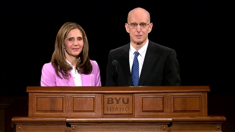 """Thumbnail for entry President Henry J. and Kelly Eyring - """"Hello, My Friend"""""""
