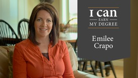 Thumbnail for entry BYU-Idaho Online Learning Student Stories:  Emilee Crapo