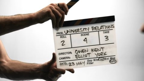 Thumbnail for entry Opportunity Awaits for Videographers at University Relations