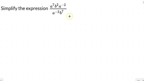 Thumbnail for entry Lesson 10 - Negative Exponents #5