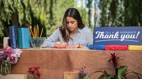 Thumbnail for entry Letter of Gratitude
