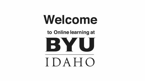 Thumbnail for entry Student Orientation to Online Courses