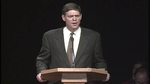 """Thumbnail for entry Dale Murphy """"Living Gospel Fundamentals"""""""