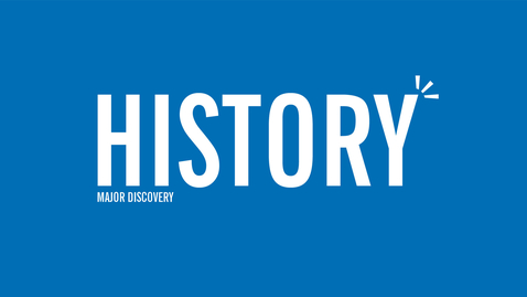 Thumbnail for entry Major Discovery: History