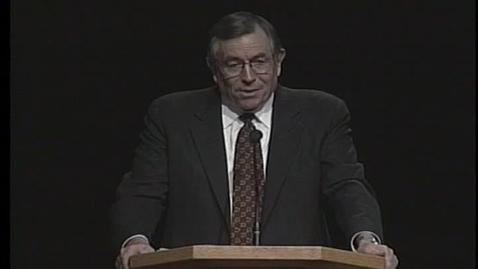 """Thumbnail for entry W. Eugene Hansen """"Listen To Spiritual Leaders"""""""