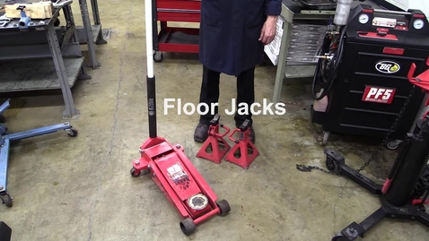 Thumbnail for entry Floor Jacks and Jack Stands