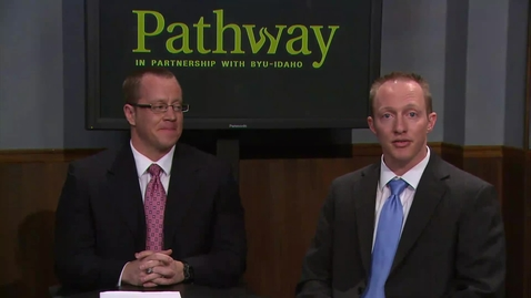Thumbnail for entry Pathway Matriculation Webcast