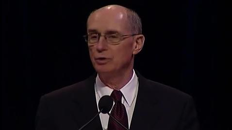 "Thumbnail for entry Henry B. Eyring  ""The Temple and the College on the Hill"""
