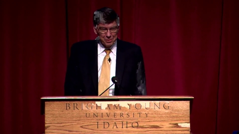 Thumbnail for entry University Forum - Clayton Christensen