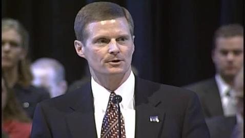 "Thumbnail for entry David A. Bednar ""I Will Not Remove Mine Integrity From Me"""