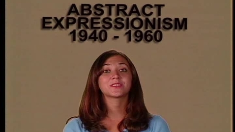 Thumbnail for entry Abstract Expressionism 1940-1960