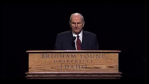 "Thumbnail for entry Russell M. Nelson ""Education--A Religious Responsibility"""