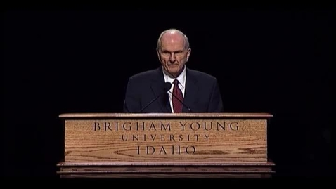 """Thumbnail for entry Russell M. Nelson - """"Education--A Religious Responsibility"""""""