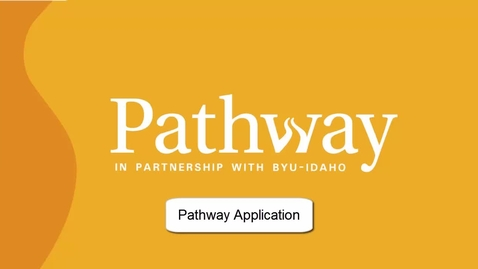 Thumbnail for entry Pathway Application