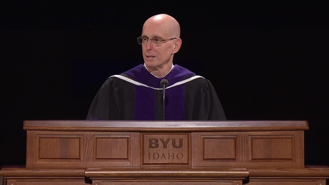"""Thumbnail for entry President Henry J. Eyring - """"Heavenly Father Knows Where You Are"""""""
