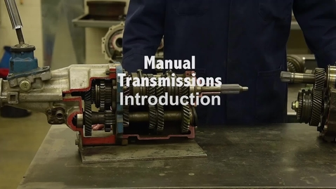 Thumbnail for entry Manual Transmissions