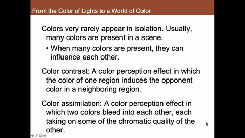 Thumbnail for entry From the Color of Lights to a World of Color