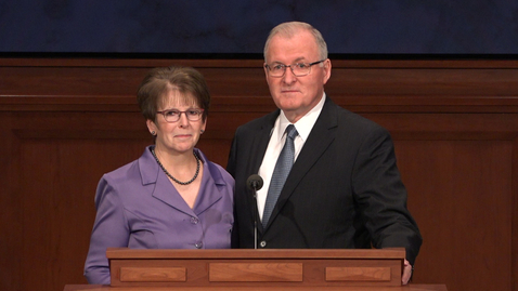 Thumbnail for entry Elder Randy D. Funk and Sister Andrea Funk