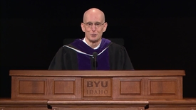 "Thumbnail for entry President Henry J. Eyring - ""First-Rate Intelligences and Natural Leaders"""