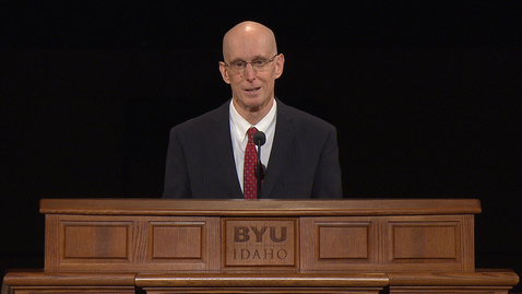 "Thumbnail for entry President Henry J. Eyring - ""We Are All Enlisted"""