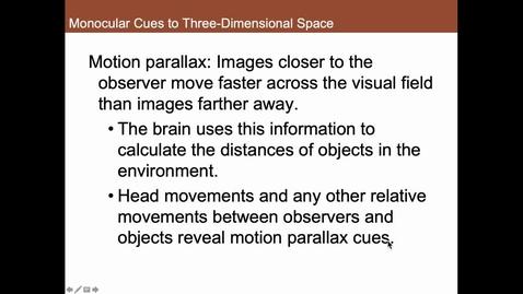 Thumbnail for entry Depth Perception 2