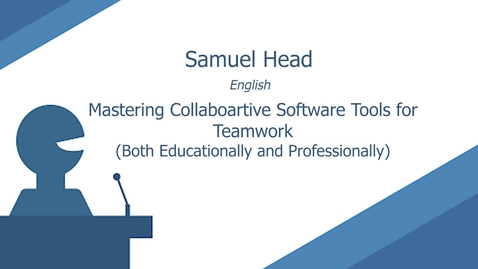 Thumbnail for entry Mastering Collaborative Software Tools for Teamwork (Both Educationally & Professionally) by Samuel Head