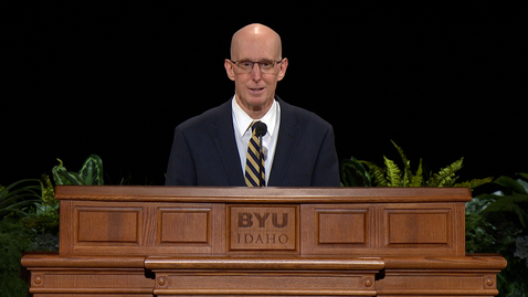 """Thumbnail for entry Henry J. Eyring - """"In Your Patience Possess Ye Your Souls"""""""