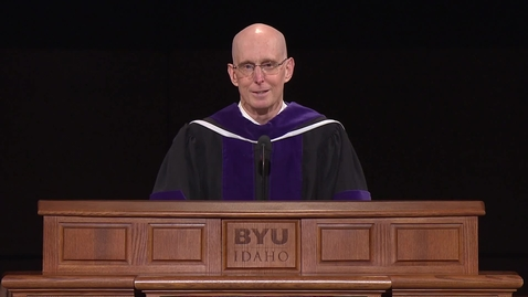 """Thumbnail for entry Henry J. Eyring - """"Be Strong in the Lord"""""""