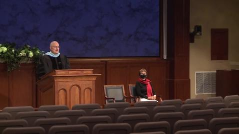 """Thumbnail for entry Elder Paul V. Johnson - """"Becoming True Disciples of Jesus Christ"""""""