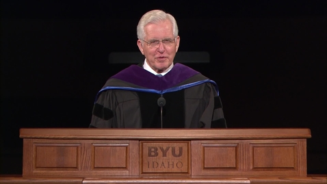 "Thumbnail for entry Elder D. Todd Christofferson - ""Gratitude,  Responsibility, and Faith"""