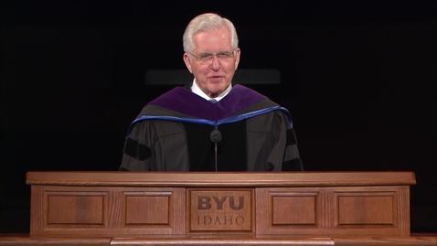 "Thumbnail for entry Elder D. Todd Christofferson - ""Gratitude,  Responsibility, and Faith"""