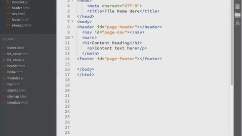 Thumbnail for entry JavaScript Modularization