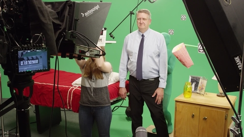 Thumbnail for entry Ken Jackson Devotional Promo - Behind The Scenes