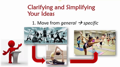 Thumbnail for entry Informative Speaking, part 2: Developing, Clarifying and Simplifying