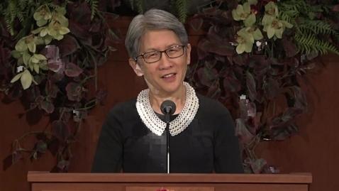 "Thumbnail for entry Carol Lu Wong - ""General Conference Study Plan"""