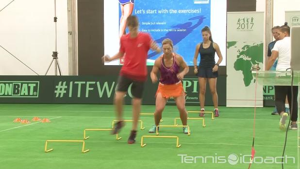 Tennis iCoach - Dynamic balance training for a better use of