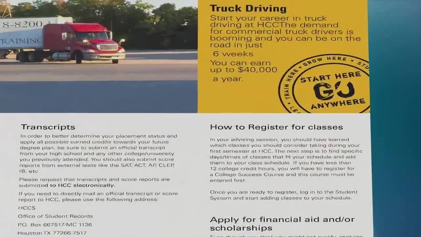 Truck Driving Houston Community College Hcc