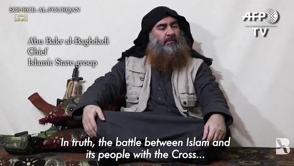 IS Chief Admits Defeat in Syria