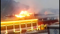 Large Fire at Sacred Tibetan Monastery