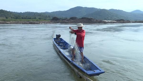 """Record-Setting Drought"" Hits Mekong Region"