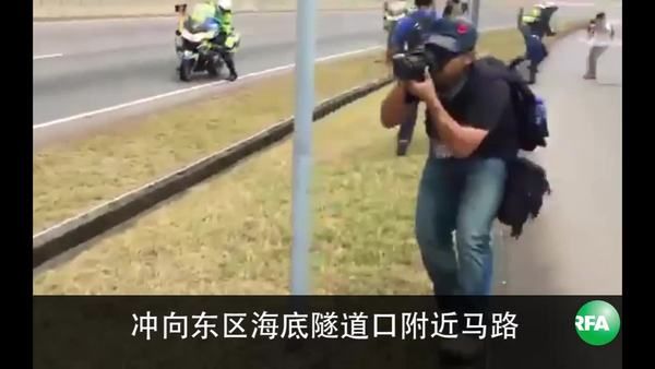 拟拦截张德江车队 香港众志5人被捕