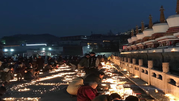 Tibet Monasteries Observe Major Religious Gathering