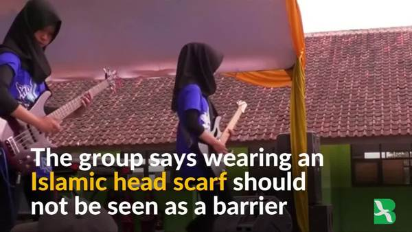 Muslim Girl Heavy Metal Group Smashes Stereotypes in Indonesia