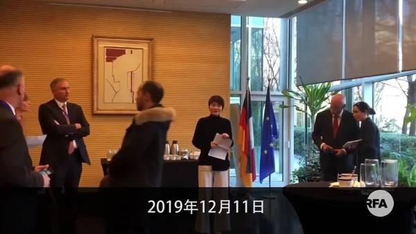 李文足获「法德人权法治奖」  国保图阻领奖不果