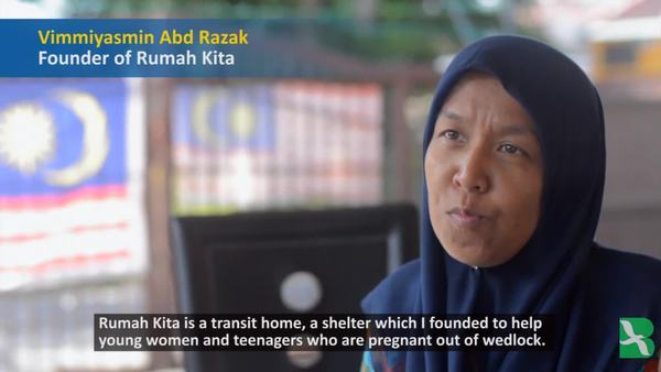 Malaysian House Shelters Unwed Pregnant Women and Their Babies