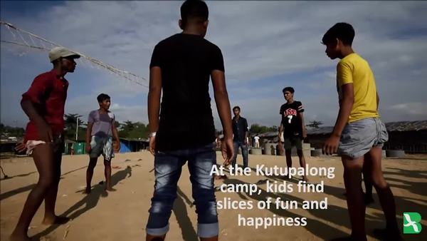 Bangladesh: Rohingya Refugee Kids Haven't Forgotten How to Have Fun