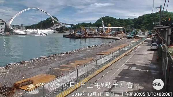 宜蘭跨海大橋斷裂6人失蹤 蔡英文責令全台檢測所有老舊橋樑