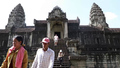 Fewer Tourists at Cambodia's Historic Angkor Wat