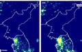 대북 제재에도 밝아진 '북한의 밤'