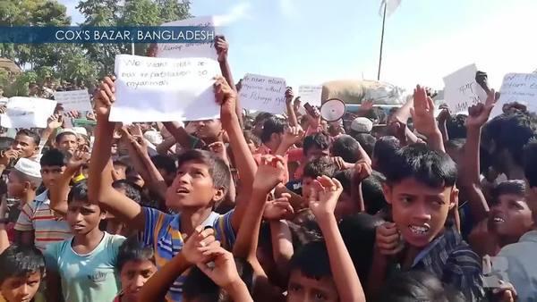 Bangladesh: Rohingya Stage Loud Protest Against Repatriation